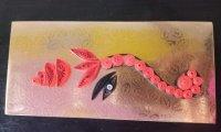 Pack of 60 Envelope Rich Golden Color size is 18cm * 8.5cm
