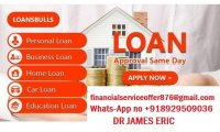 Mortgage loan, Debt consolidation loan whats-App +918929509036